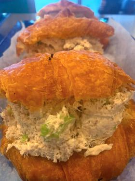 Tuna Salad Croissants