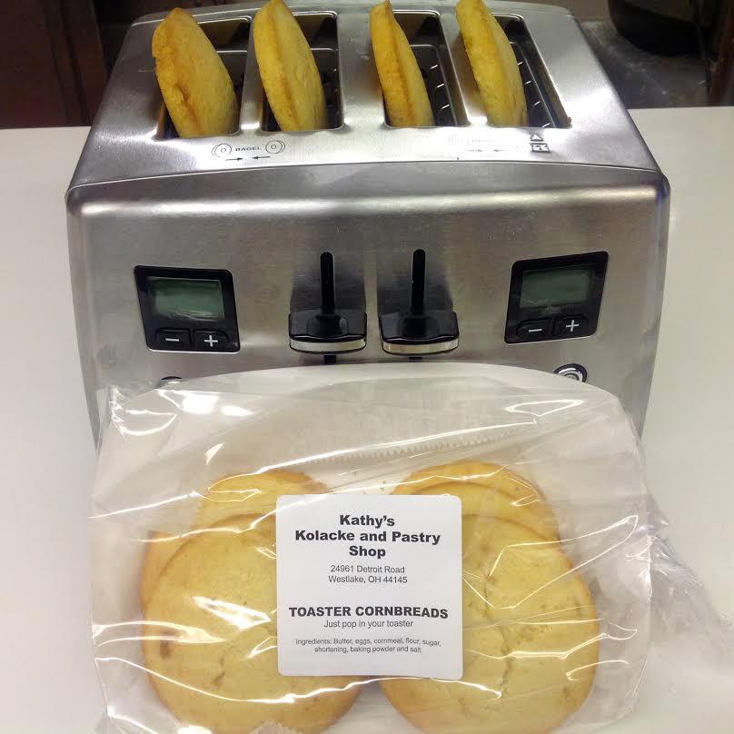 CornTops(TM) Toaster Cornbreads