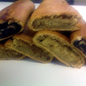 Hungarian Nut And Poppy Seed Rolls