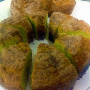 Pistachio Coffee Cake!
